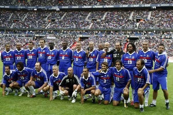 Joueurs de l 39 equipe de france coupe du monde 1998 - Joueur coupe du monde 98 ...